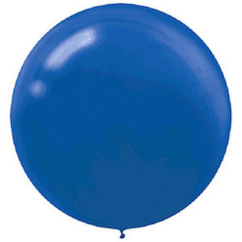 Royal Blue Jumbo Latex Balloons