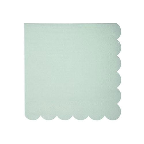 pastel Green Party napkins