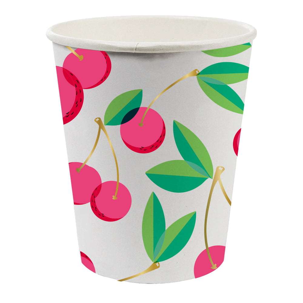 Cherry Party Cups - Witty Bash