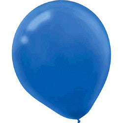 Royal Blue Latex Balloons