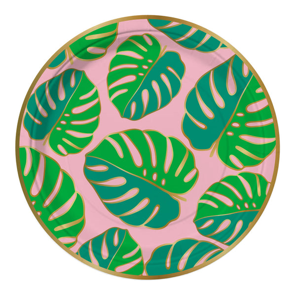 Tropical Party Plates - Witty Bash