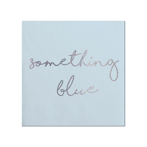 something blue napkins
