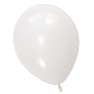 Pearl White Latex Balloons - Witty Bash