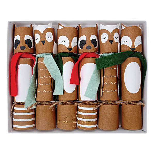 Woodland Party Crackers - Witty Bash