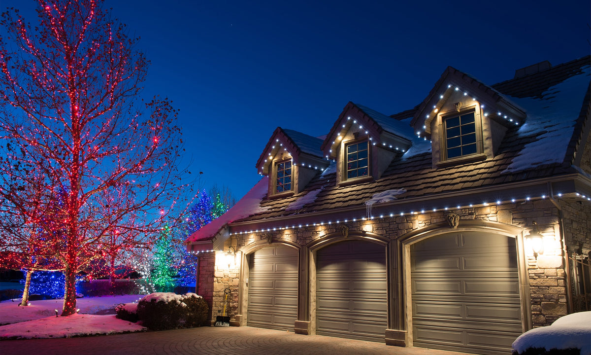 christmas light wire with innovative sockets village lighting company