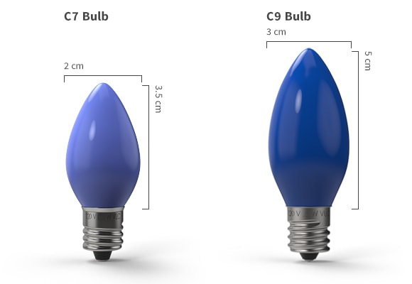 LES Bulb Holder Blue Or Clear