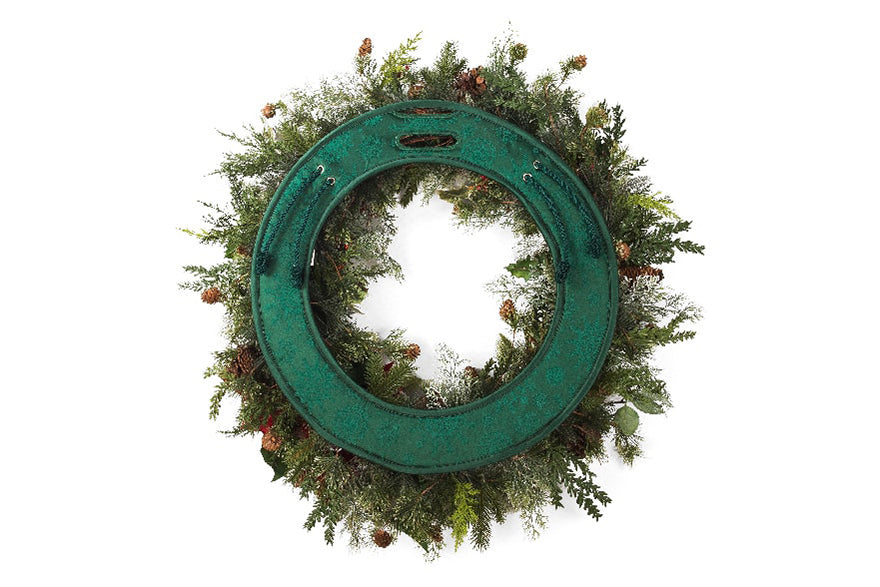 Prevent Scratches  with this Door Preventing Wreath Pad