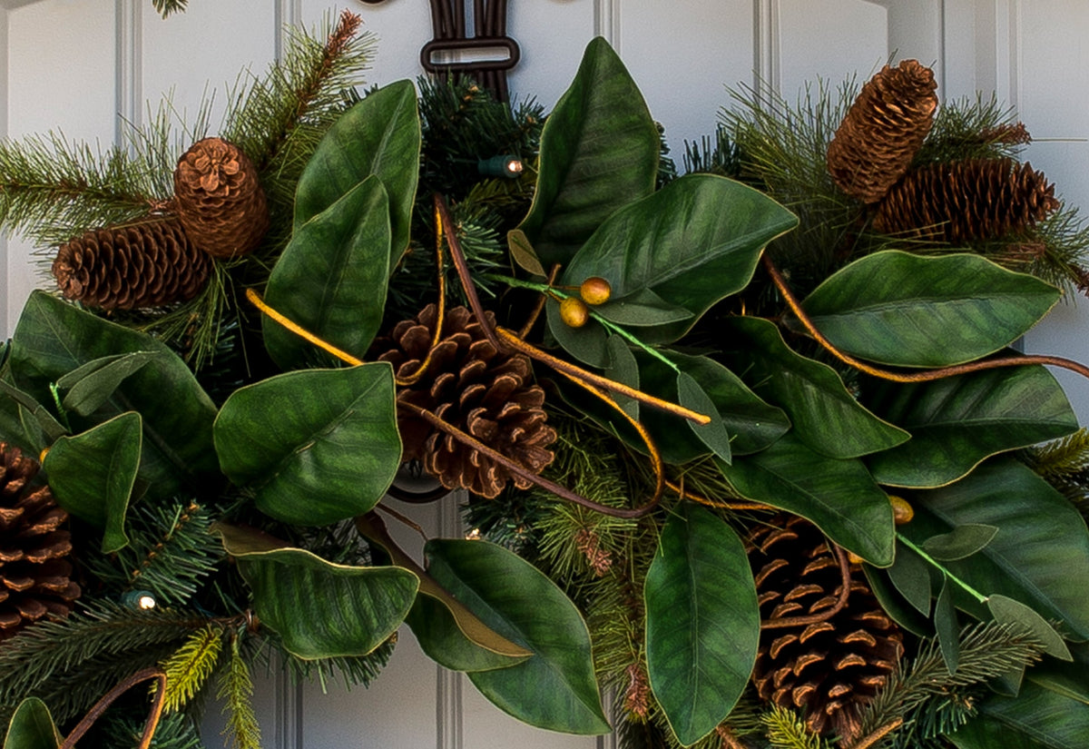 Magnolia Leaf Wreath - 30