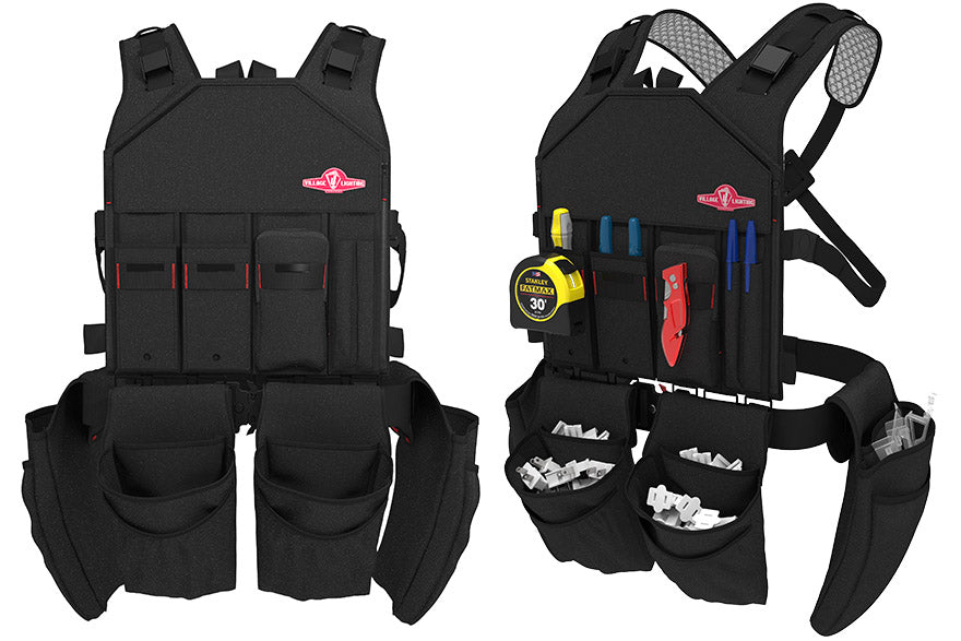 Assebled Light Vest with installation gear