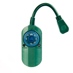 Mechanical Dial Timer With Photocell