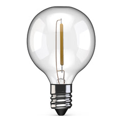 G40 (E12) Filament LED Patio Light Bulb