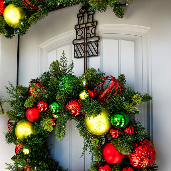Gifts Wreath Hanger - Village Lighting Company
