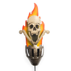 Halloween Skull Light Stake - Village Lighting Company