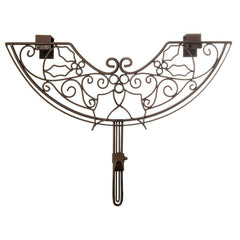 Wreath Hanger - Holly Berry Wreath Hanger by Village Lighting Company