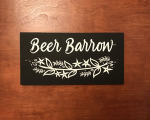 Beer Barrow - Love Signage