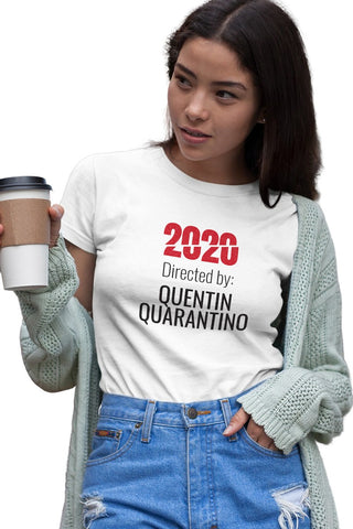 2020 Quarantino Movie T-shirt