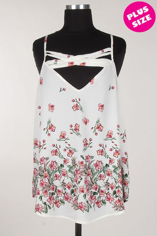 Dancing Flowers Top