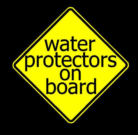 Water Protector Decal