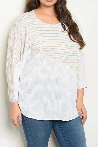 Stripes and Solids Sweater