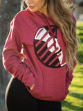 "Sudadera Logo Del Records ""Distressed"""