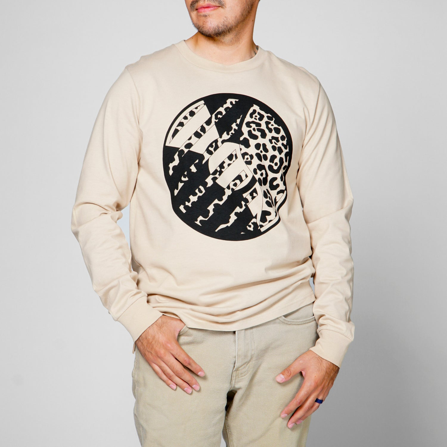 DR Cheetah Disc Long Sleeve