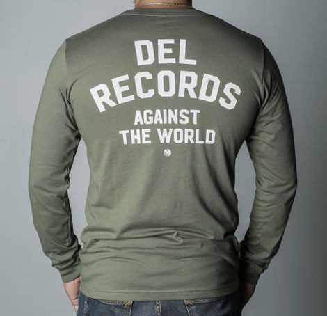 DEL RECORDS Against the World Camiseta manga larga unisex