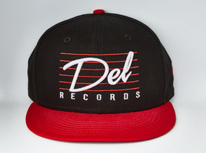 Gorra Del Records Retro