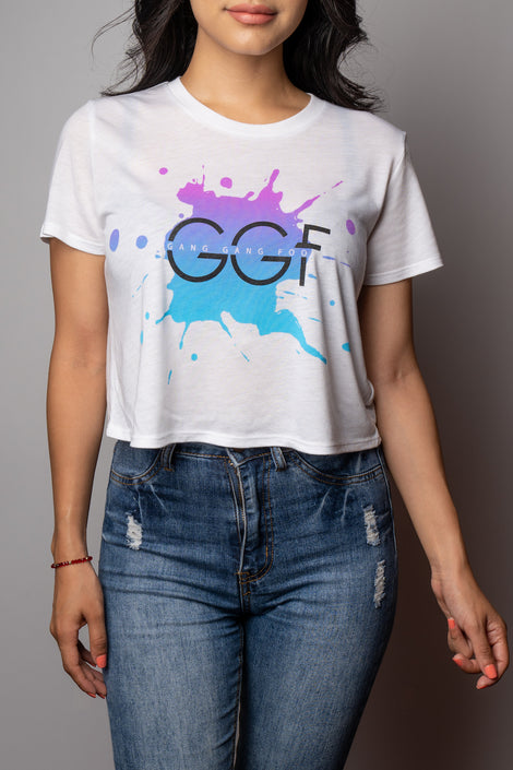 GGF Gradient Crop Top