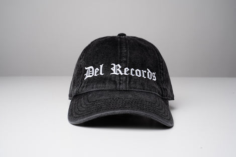 DR Old English Washed Denim Dad Hat