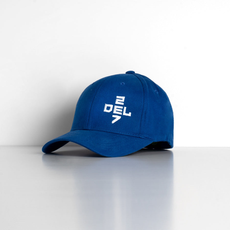 Del 27 Cross Fitted Hat