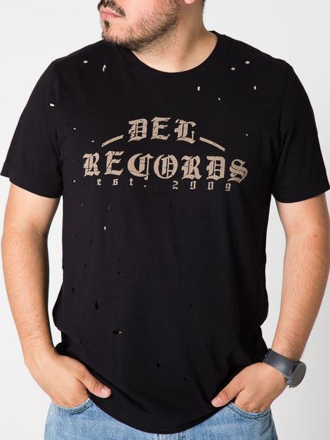 Playera Unisex Del Records Vintage