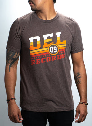 Playera unisexo Del Records Retro