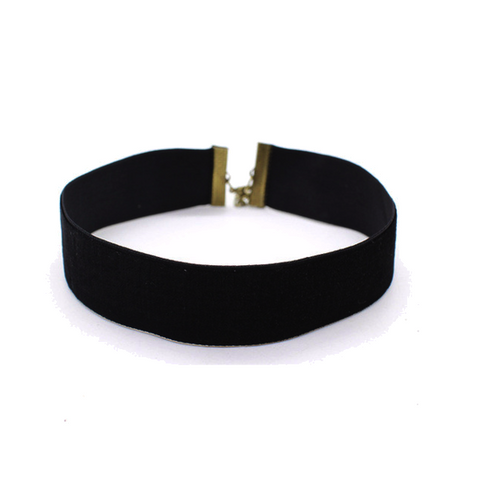 Velvet Ribbon Choker Necklace