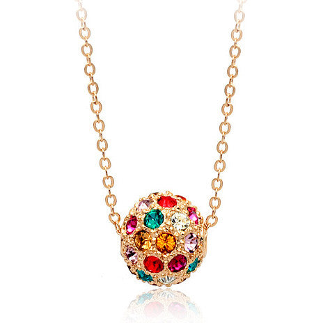 Lucky Ball Pendant Necklace