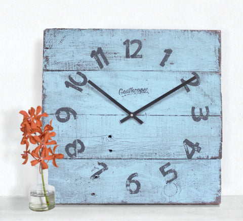 Lagoon Acquas Beach Wall Clock - Hapuna-Goathopper-1