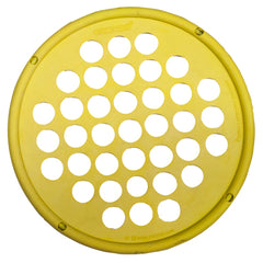 CanDo® Hand Exercise Web - Low Powder - 7 inch Diameter - Yellow - X-light