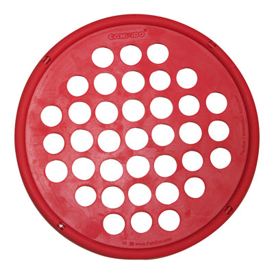 CanDo® Web Hand Exercisers - Latex Free - 7 inch Diameter - Red - Light