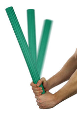 CanDo® Twist-Bend-Shake Flexible Exercise Bar - 24 inch - Green - Medium