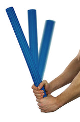 CanDo® Twist-Bend-Shake Flexible Exercise Bar - 24 inch - Blue - Heavy