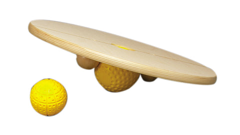 Chango R4 16 inch diameter board with 3 and 4 inch balls