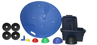 Professional Board, 5-Ball Set with Tub, 2 Weight Rods with Weights