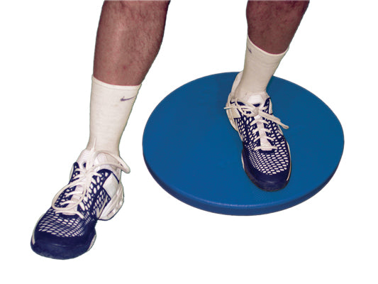 CanDo® home balance board - for Left leg - Blue - 250 lb. capacity