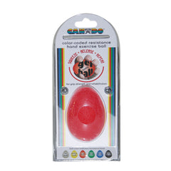 CanDo® Gel Squeeze Ball - Large Cylindrical - Red - Light