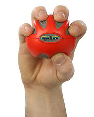 CanDo® Digi-Squeeze hand exerciser - Small - Red, light