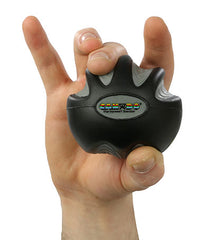 CanDo® Digi-Squeeze hand exerciser - Medium - Black, x-firm