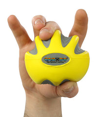 CanDo® Digi-Squeeze hand exerciser - Large - Yellow, x-light
