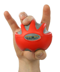 CanDo® Digi-Squeeze hand exerciser - Large - Red, light