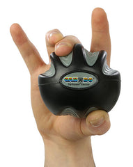 CanDo® Digi-Squeeze hand exerciser - Large - Black, x-firm