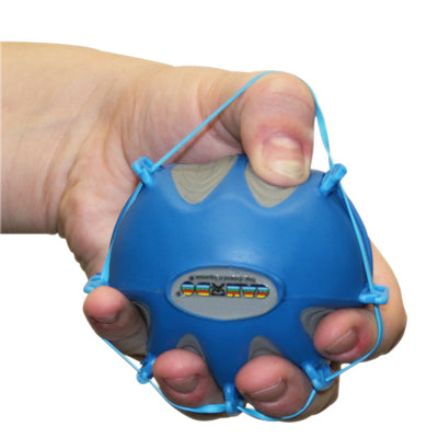 CanDo® Digi-Extend n' Squeeze Hand Exercisers - Small - Blue, heavy