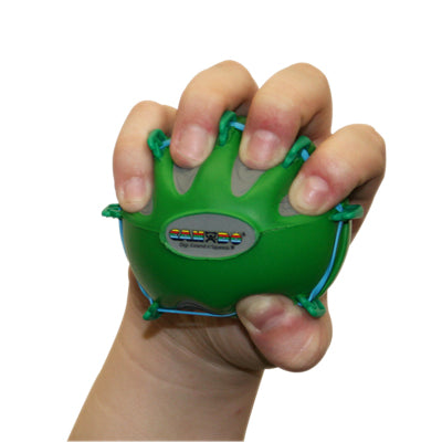 CanDo® Digi-Extend n' Squeeze Hand Exercisers - Large - Green, moderate